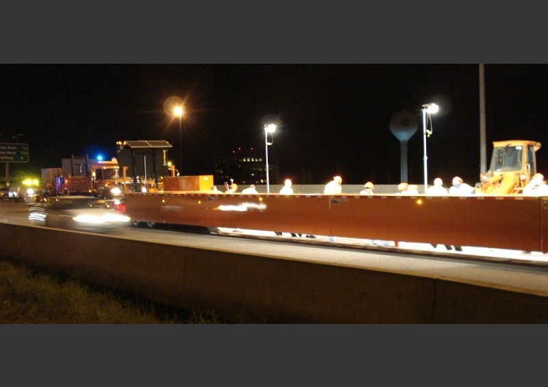 Night Workzone Safety - Mobile Barriers MBT-1