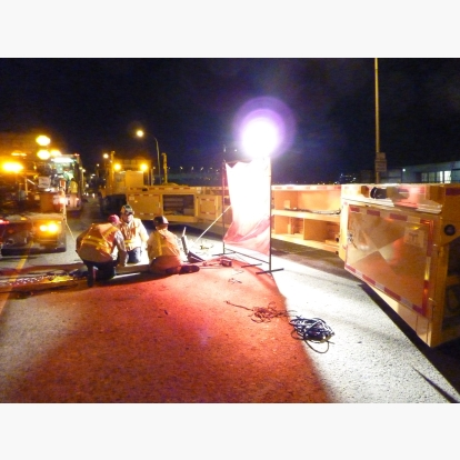 Bridge Expansion Joint MBT-1 Workzone